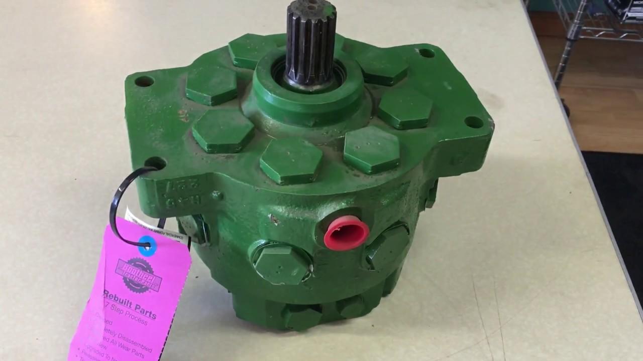 maxresdefault john deere 4440 remanufactured hydraulic pump youtube