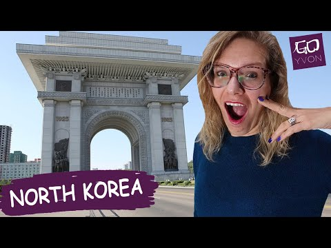 Trip to North Korea - Arch of Triumph (vlog #1)