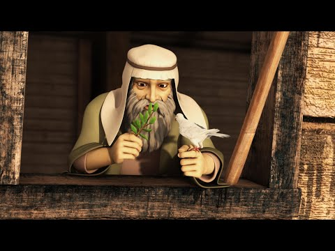 Superbook - Noah And The Ark - Season 2 Episode 9 - Full Episode (Official HD Version)