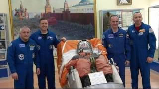 Expedition 51-52 Prepares for Launch in Kazakhstan