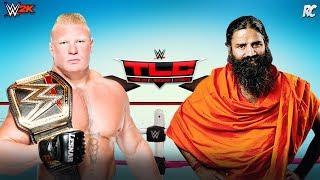 Brock Lesnar vs Baba Ramdev - Brock Lesnar WWE full match – Funny Video - WWE 2K