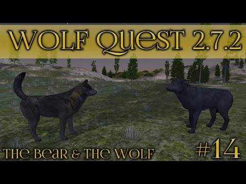 Becoming the Big Bad Wolf!! || Wolf Quest 2.7.2 - Bear & Wolf Season || Episode #14