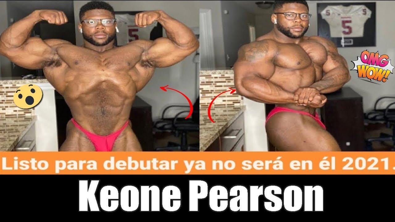 Keone Pearson adelanta su debut en la categoría 212 libras está a 9.5 semanas Boston Pro.
