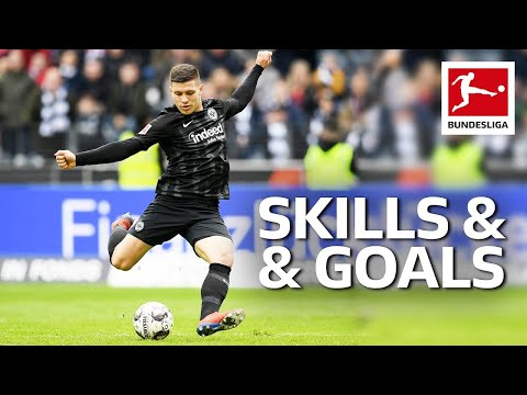 Luka Jovic - Magical Skills & Goals