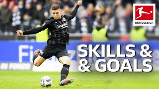 Luka Jovic - Magical Skills & Goals