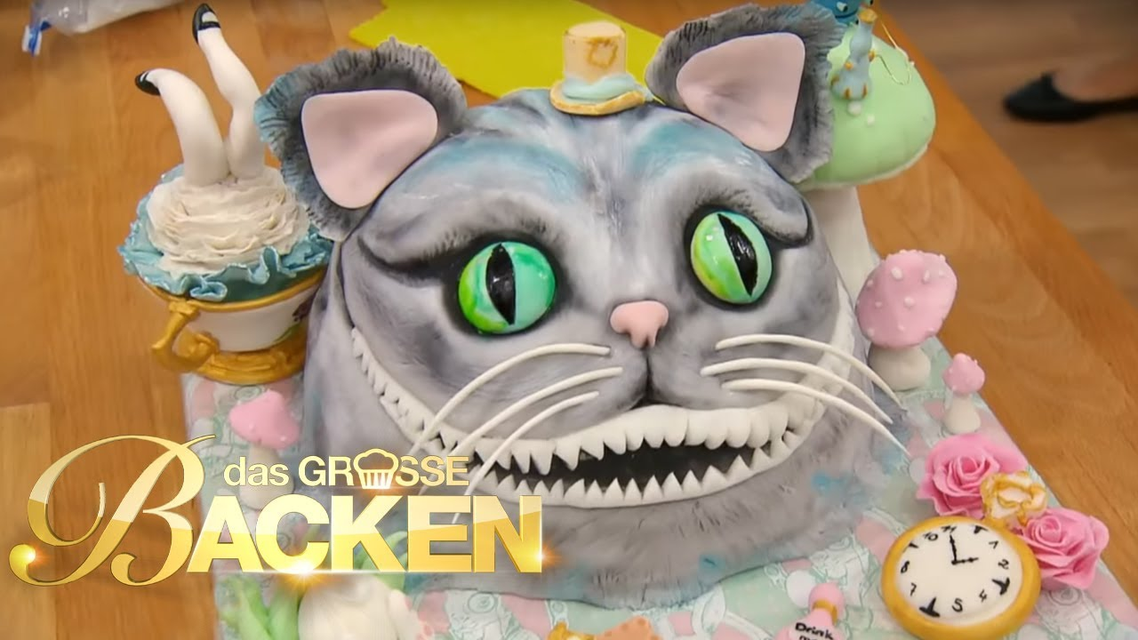 Gebackene Visitenkarte  Teil 2 Motivtorten  Das groe Backen 2017  SAT1 TV  YouTube