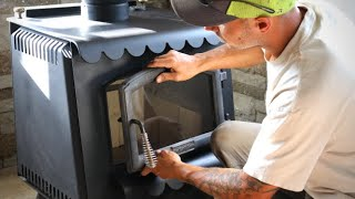Old Wood Stove Gets New Look | Upgrades and Maintenance