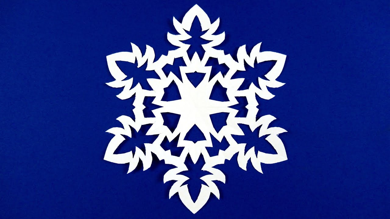 How To Make A Snowflake Out Of Paper Make Snowflakes Out Of Paper