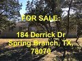 Spring Branch HUD Homes -- HUD King tours 184 Derrick Dr