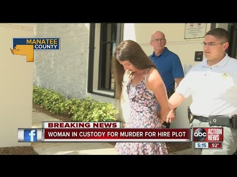Woman arrested for murder-for-hire plot