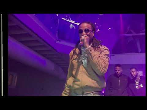 Migos perform ''Walk it talk it ft Drake'' and more then bring out Cardi B!