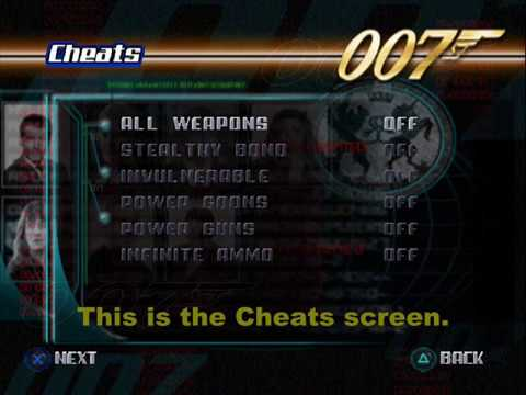 The World Is Not Enough Ps1 About Cheats Accurate