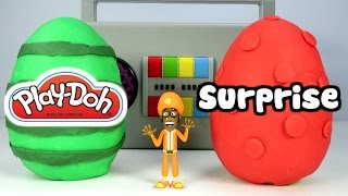 """YO GABBA GABBA """"Play-Doh Surprise Egg with Yo Gabba Gabba Surprise Toys"""""""