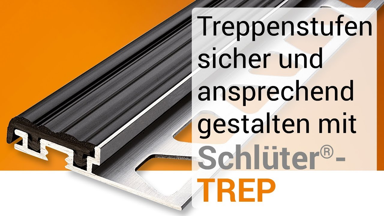 Treppenstufen Sicher Und Ansprechend Gestalten Mit Schlüter Trep