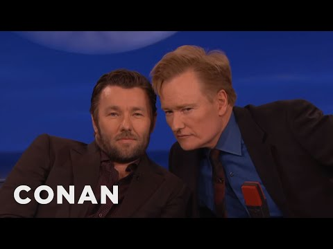 Joel Edgerton & Conan: Separated At Birth?   CONAN on TBS