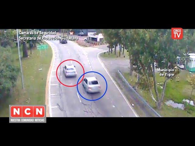 CINCO TV - Amenazó a un conductor para robarle y el COT lo atrapó a unas cuadras