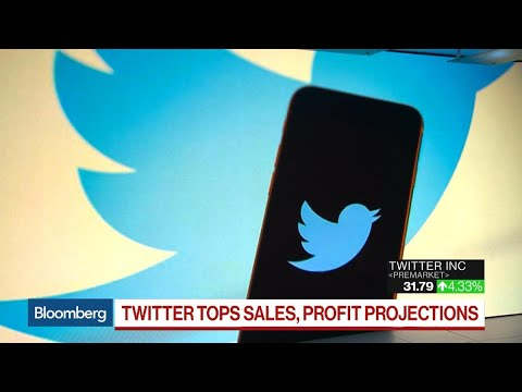 Twitter Beats 1Q Earnings Estimates as Sales Surge 21%
