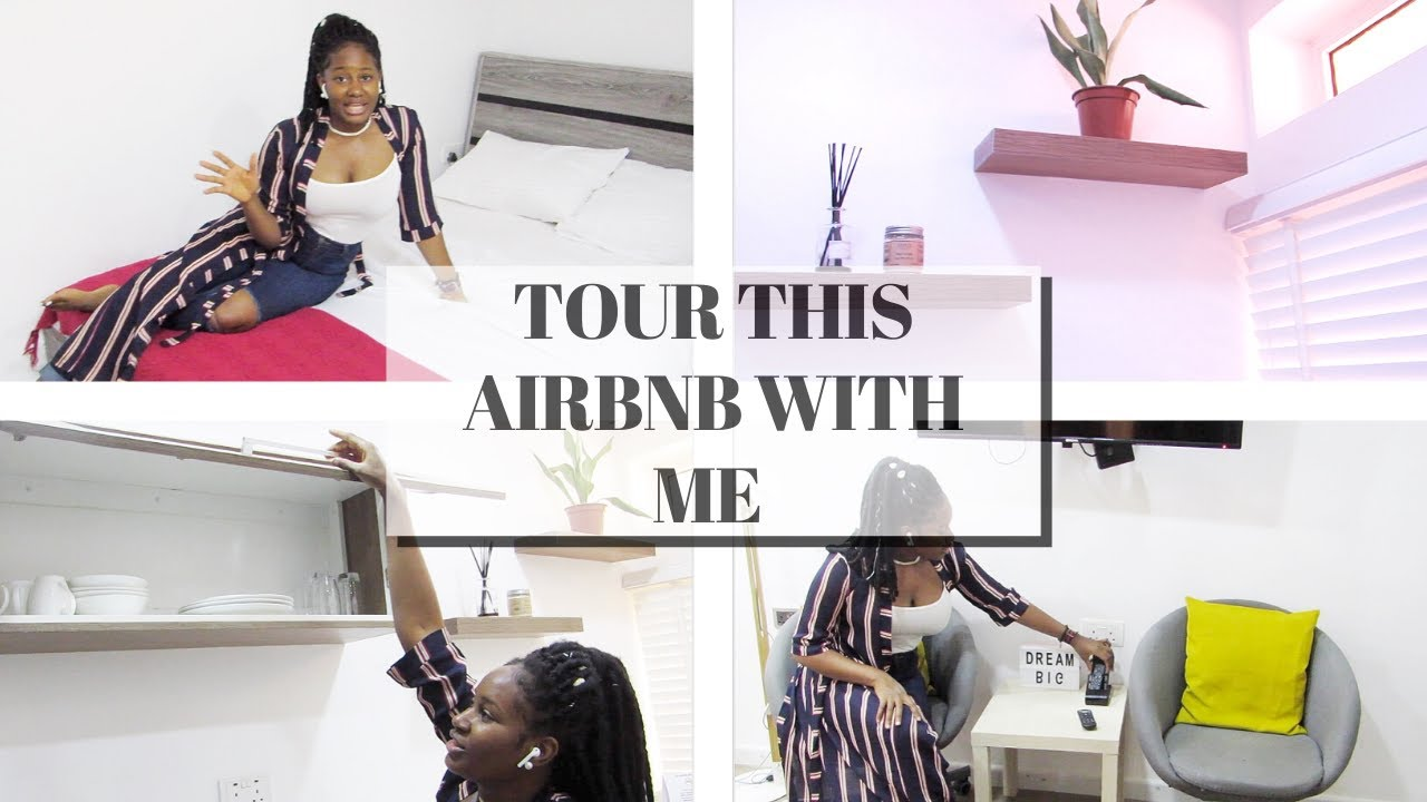 What A 55 Airbnb Looks Like In Nigeria Vlog Sommy Charles Youtube