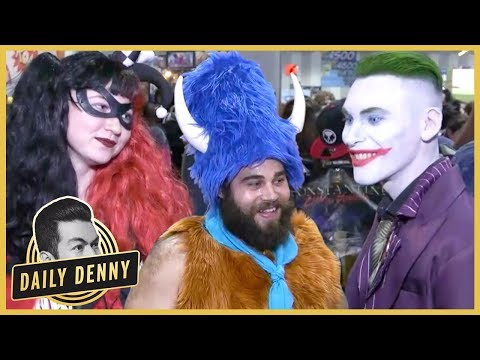 Take A Tour Of The Comic-Con Floor! | Daily Denny