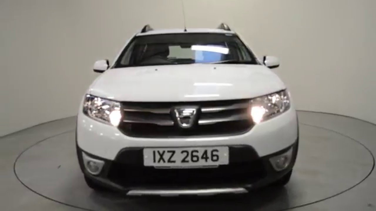 nearly new 2015 dacia sandero stepway dacia portadown shelbourne motors ixz2646 youtube. Black Bedroom Furniture Sets. Home Design Ideas