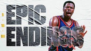 Final 4:46 Ewing & Houston Lead Knicks To Series Clinching W   Epic Endings