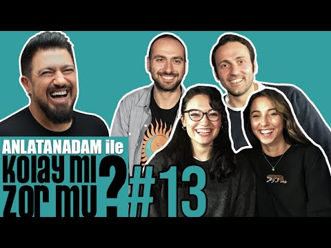 Anlatanadam Ile Kolay Mı, Zor Mu? #13 Barış Akyüz & Erdem Özyurt VS Pınar Akyüz & Buse Tatar