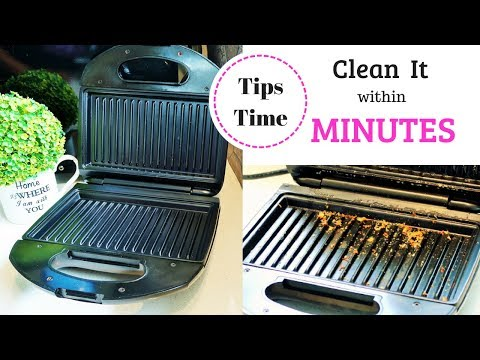 How To Clean Kitchen Appliances | Philips Sandwich Maker Cleaning Tips