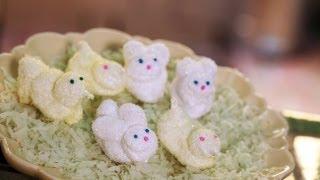 Homemade Marshmallow Peeps Recipe || Kin Eats
