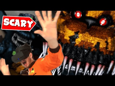 Adult Man CRIES While Playing Five Nights At Freddy's VR