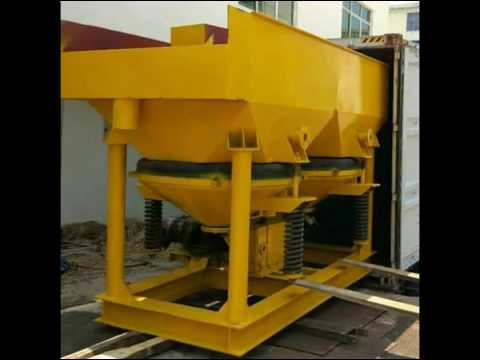 Diamond concentrate separation jig concentrate machines