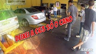 DEIXEI A C63 AMG SÓ O CANO