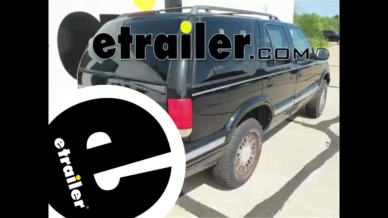 installation of a trailer hitch on a 1996 gmc jimmy etrailer com installation of a trailer hitch on a 1996 gmc jimmy etrailer com