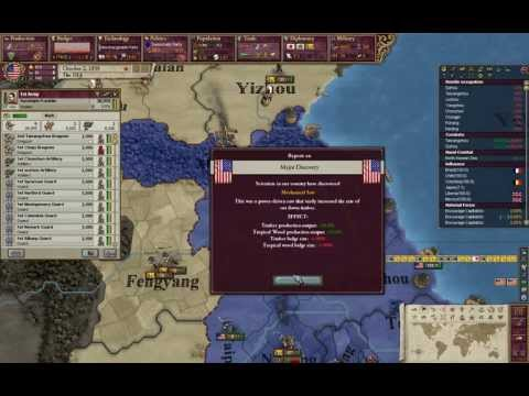 Victoria 2 USA part 14 - Um...Hello There France