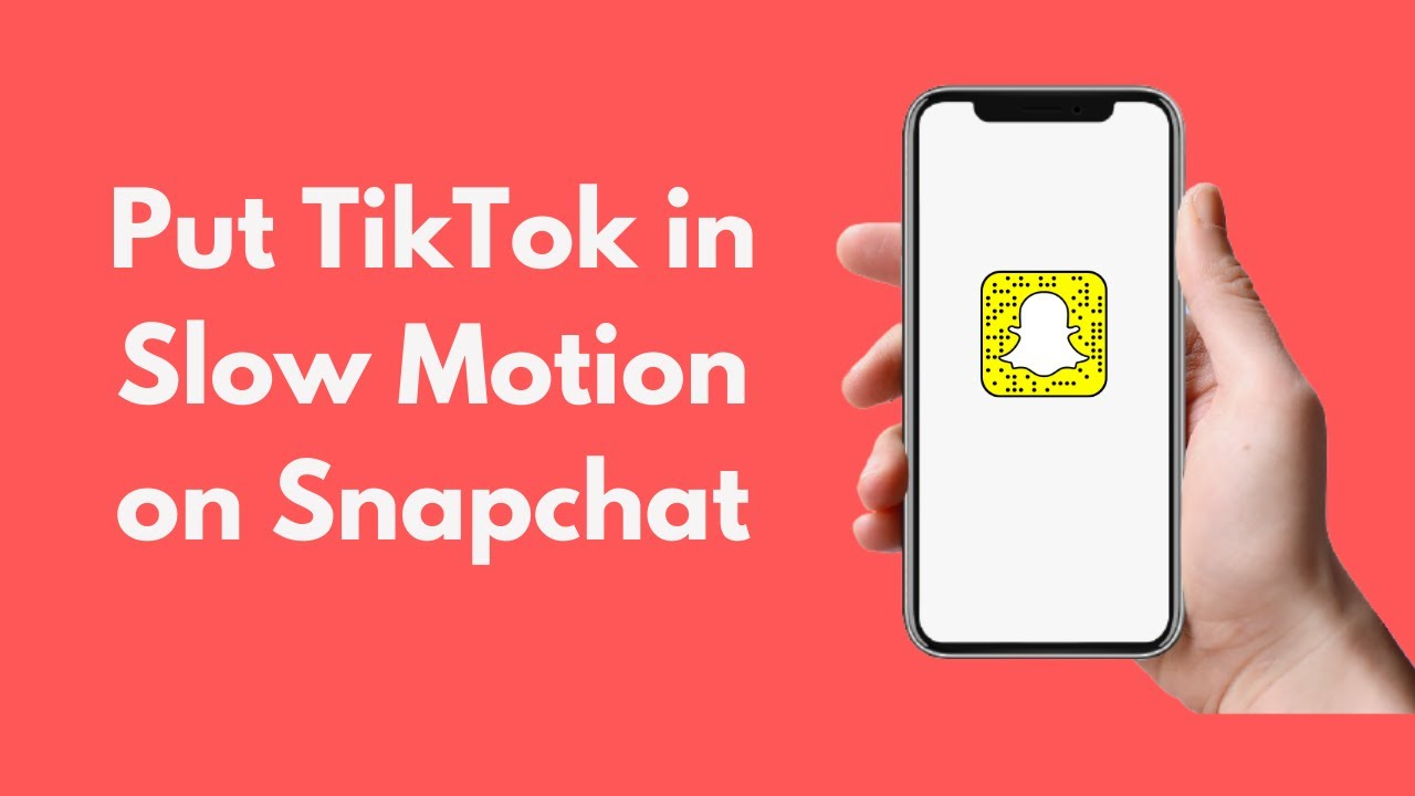 How To Put Tiktok In Slow Motion On Snapchat Android Iphone Slow Down A Video On Snapchat Youtube