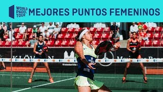 Los 3 mejores puntos femeninos del Eurofinans Swedish Padel Open 2019