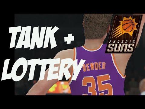 NBA 2K18 Suns MyGM | The Ultimate Tank + Draft Lottery | Number 1 Pick?