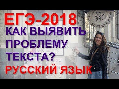 Как писать сочинение на ЕГЭ по русскому языку.  Ч. 2. Определяем и комментируем проблему текста