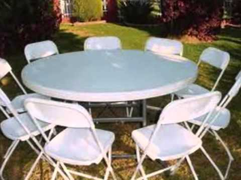 Party Rentals Tables And Chairs Adirondack Chair Set Of 2 Rental In Broward Tents Youtube