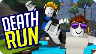ESCAPING THE CHEATING! ROBLOX DEATHRUN - Exo and Luh