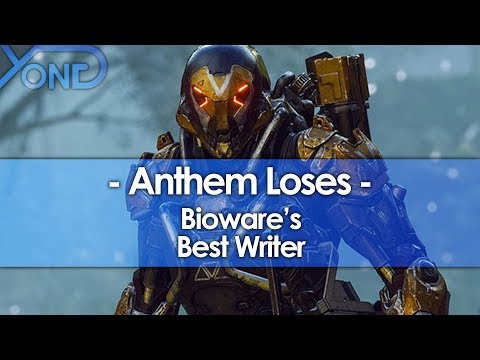 Anthem Loses Bioware's Best Writer