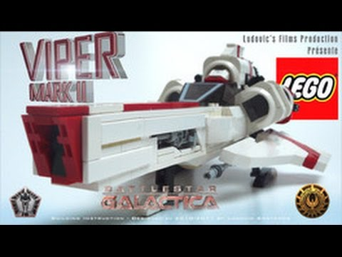 How To Build The Lego Viper Mark Ii From Battlestar Galactica Youtube