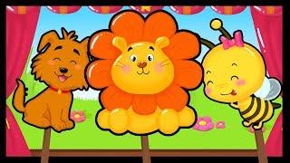 Les animaux - Comptines et chansons pour apprendre le cris des animaux - Titounis