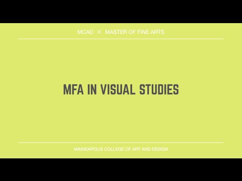 Minneapolis College of Art and Design Master of Fine Arts