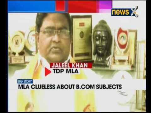 TDP MLA Jaleel Khan embrasses self, says loved physics so pursued B.Com