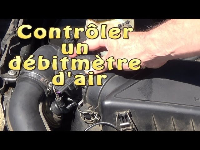 controler tester un debitmetre d air sans demontage youtube. Black Bedroom Furniture Sets. Home Design Ideas