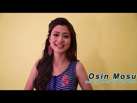 Introducing fbb Colors Femina Miss India Arunachal Pradesh 2018 Osin Mosu