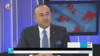 تركيا تدعو إيران للضغط على الحكومة السورية لاحترام الهدنة