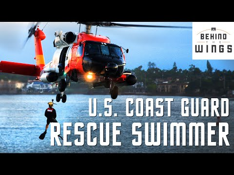 U.S. Coast Guard Rescue Swimmer | Behind the Wings