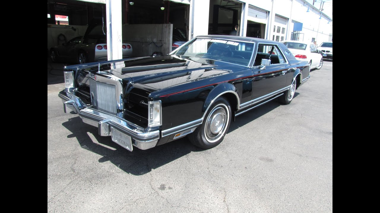 SOLD SOLD SOLD 1978 Lincoln Mark 5 5000 ORIGINAL MILES @Erics Muscle ...