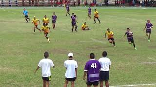 King's College Rugby Seven 2018 Second Round U18 House 2 vs House 3